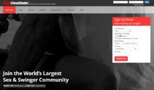 AdultFriendFinder website