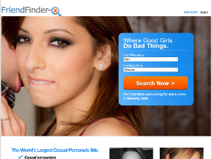 Signing Up with Friendfinder-X