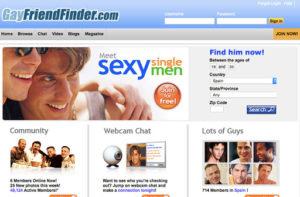 Sign Up Process gayfriendfinder
